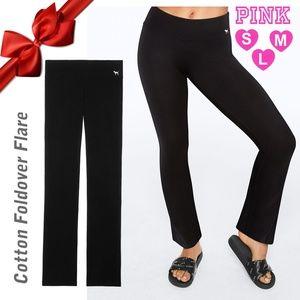 VS PINK Black Waist yoga Pants
